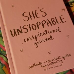 dayna lee collection Office - SHE'S UNSTOPPABLE inspiration jurnal/notebook